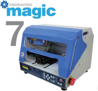 MAGIC 7 настольный 4х осный гравер для ювелиров фрезер с ротационной осью